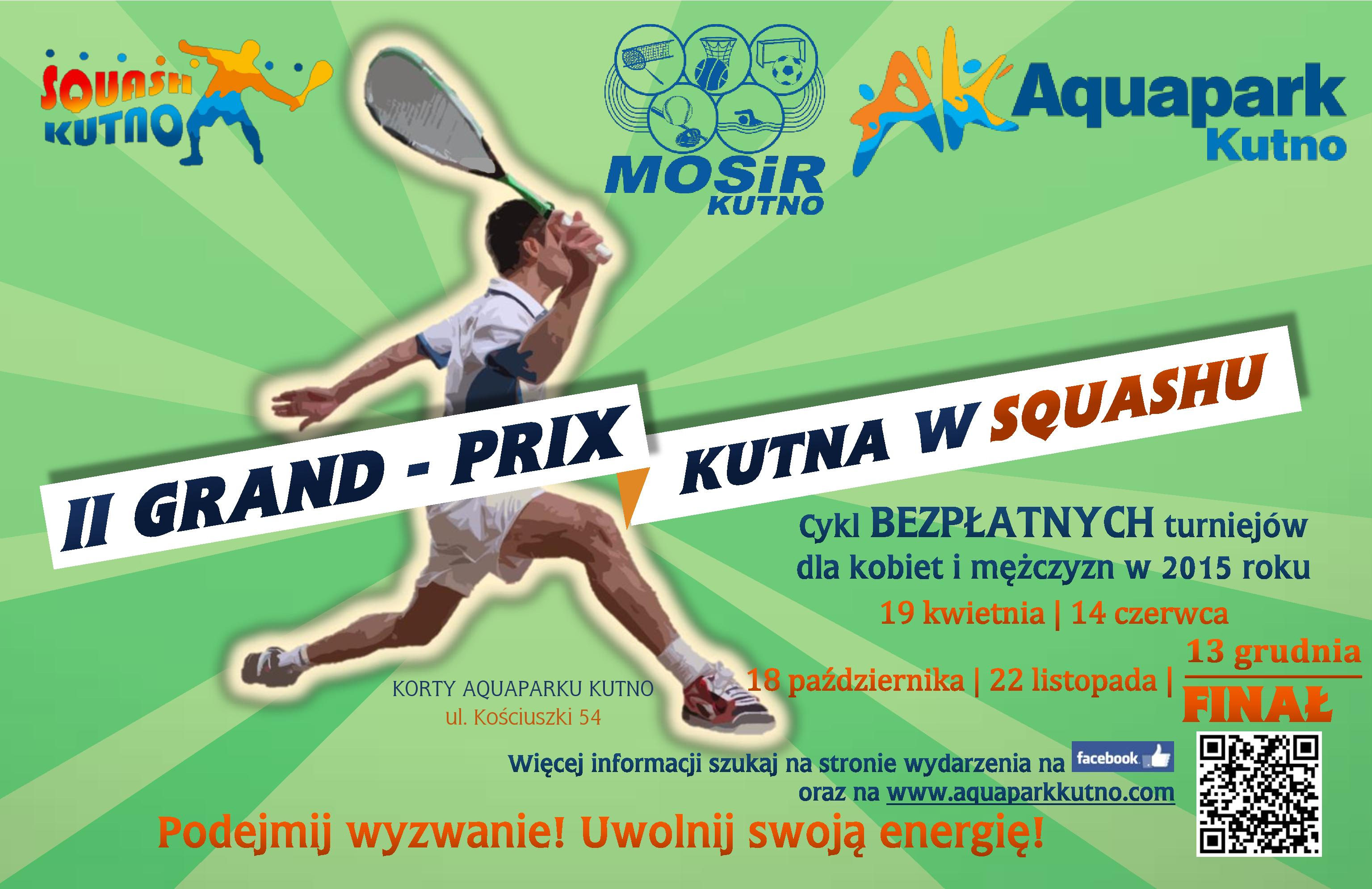 4 turniej squasha rozegrany!